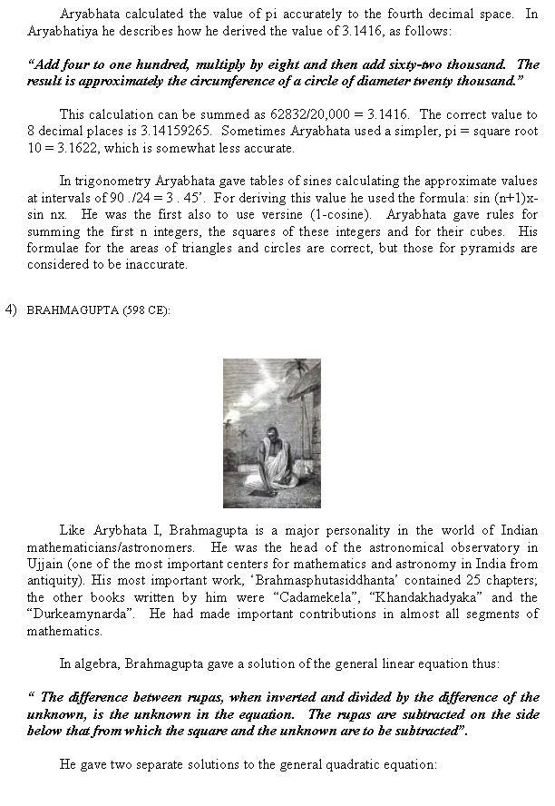 essay on contribution of india in maths