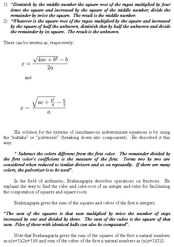 contribution of indian mathematicians essay