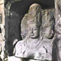 Elephanta cave sculpture