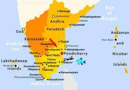 Indian Century Puducherry - Pondicherry map