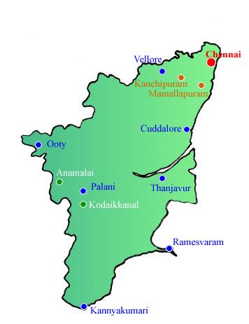 Indian Century - Tour Tamil Nadu